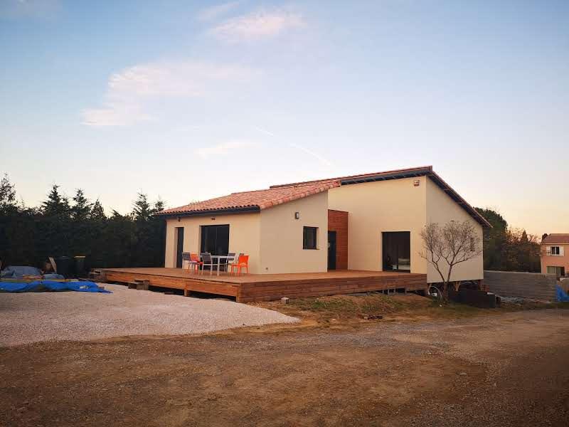 Maison à ossature bois sur pieux