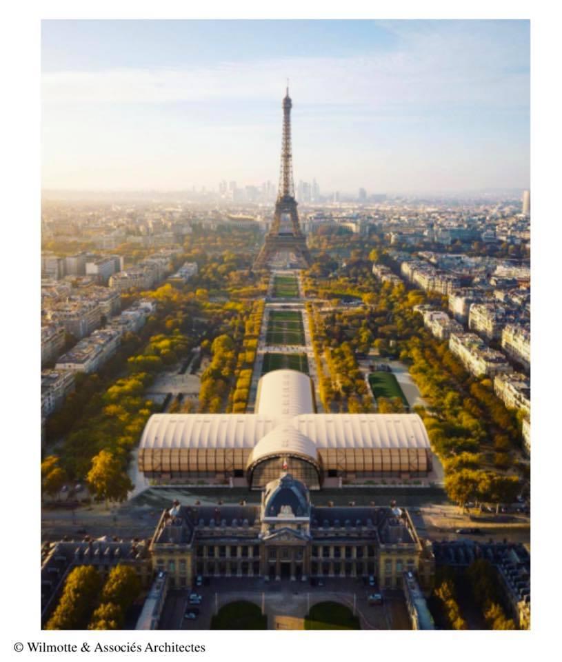 exposition Notre Dame de Paris, l'art de la charpente